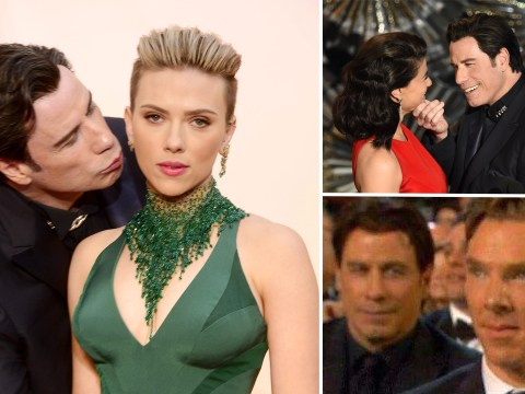 7 times John Travolta made us feel mega-awkward with his weirdness at the Oscars 2015