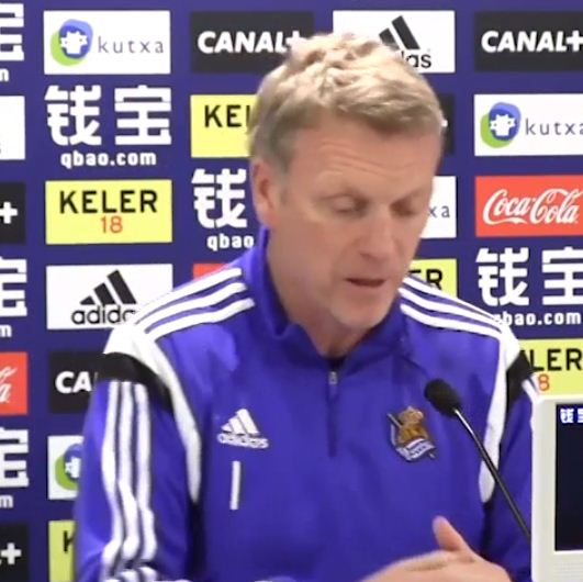 David Moyes butchers pronunciation of Real Madrid star's name, proves he still can't speak Spanish