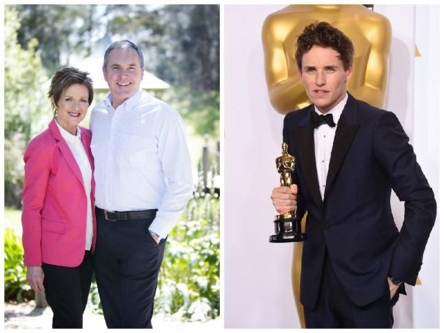 Eddie Redmayne has Aussie soap Neighbours to thank for that Oscar
