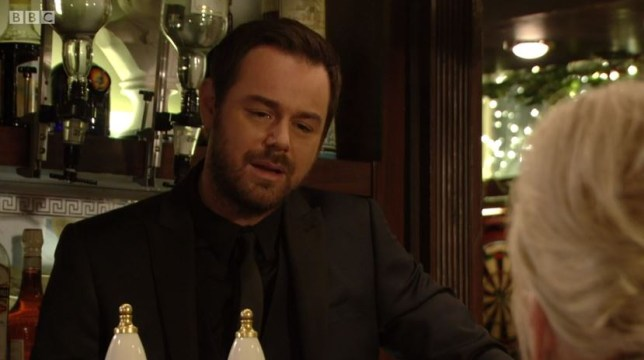 EastEnders live week - Mick Carter (Picture: BBC)