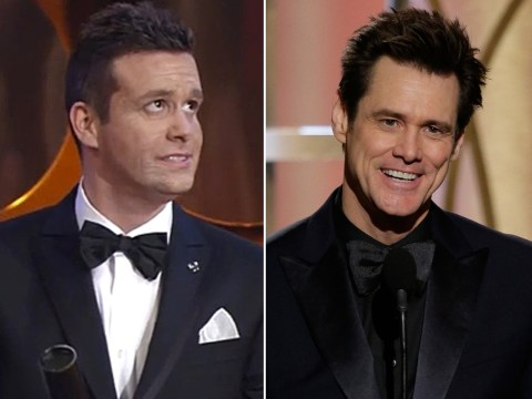 Film awards organisers mistake terrible lookalike for the real Jim Carrey