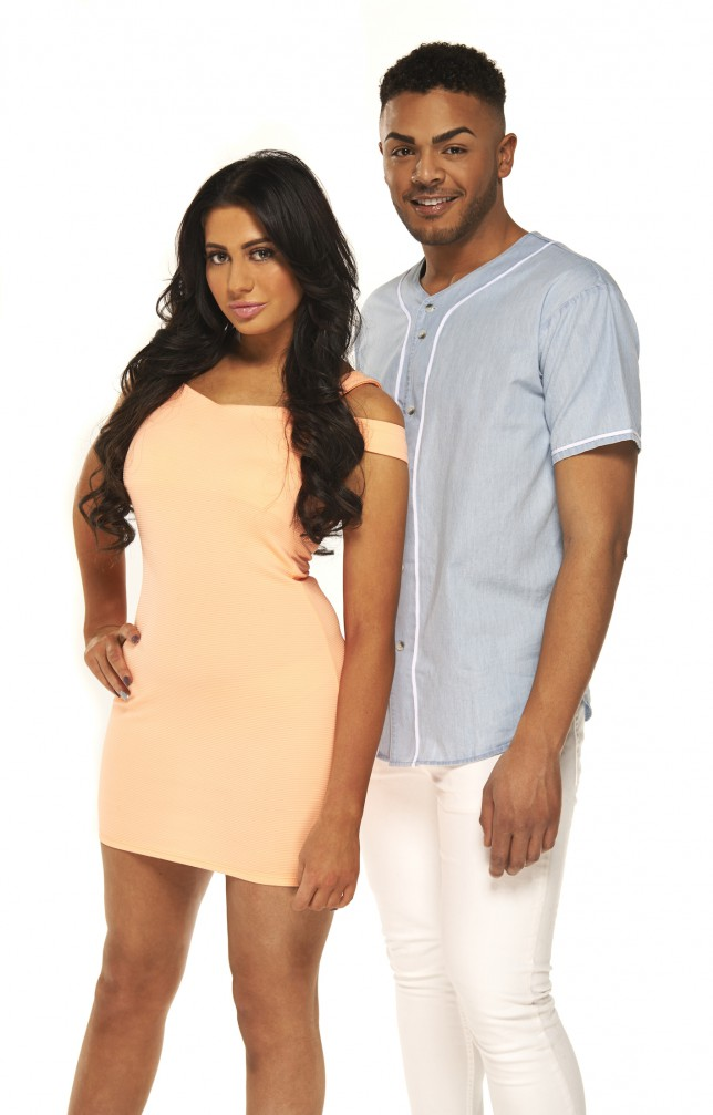 Geordie Shore - Chloe Etherington and Nathan Henry (Picture: MTV)