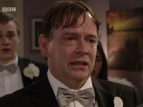 EastEnders live episode 2015: Stars of the soap world heap praise on Adam Woodyatt