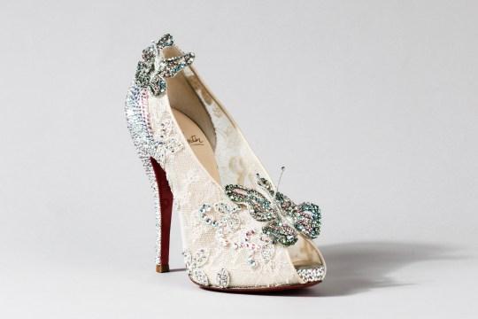 a8082e2a4f8e Christian Louboutin for Disney Cinderella shoes