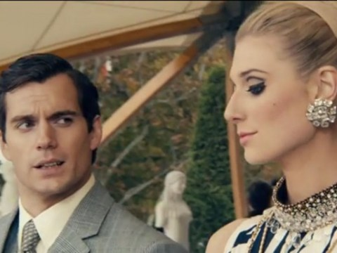 Henry Cavill is looking seriously dapper in the first trailer for The Man From U.N.C.L.E