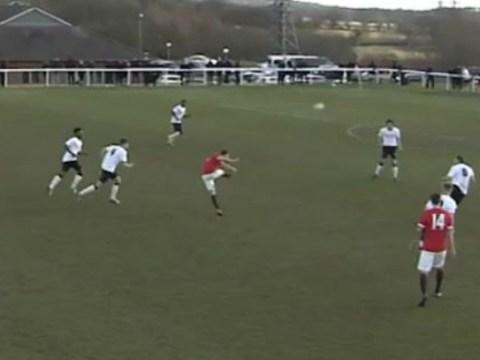 Manchester United's next big star Oliver Rathbone scores amazing 40-yard wonder goal