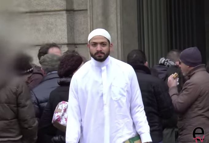 This is what happened when a Muslim man walked for 5 hours through Milan