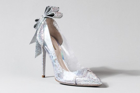 bdb80ef0ee27 Nicholas Kirkwood s Cinderella shoe for Disney