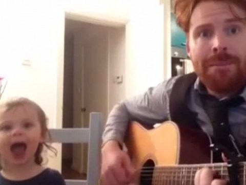 This is the cutest rendition of the Postman Pat theme tune you'll ever see
