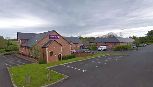 Chorley North Premier Inn where the security guard used to work (Picture: Google Street View)