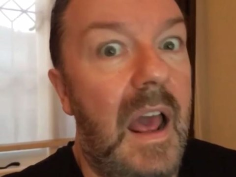Ricky Gervais' acting masterclasses just keep getting better and better