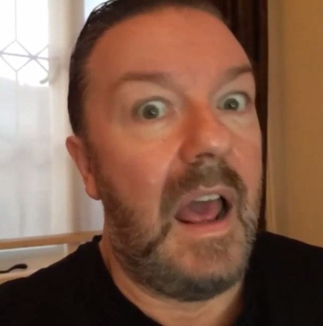 Ricky Gervais acting masterclass (Picture: Ricky Gervais/Instagram)