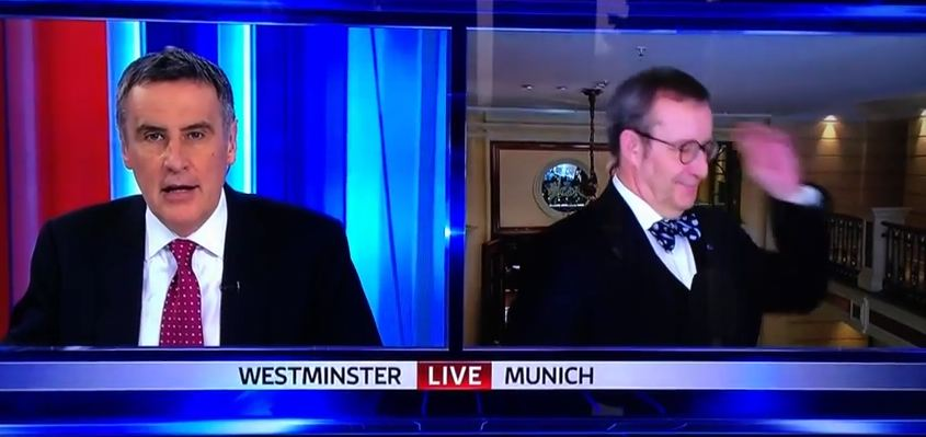 Dermot Murnaghan told to 'shut up' after getting president's name wrong