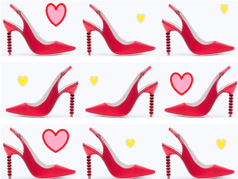 Sophia Webster's Tyra Heart heels are totally dreamy