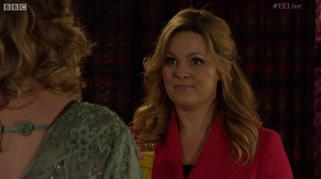 Jo Joyner admits embarrassment at returning to EastEnders set after 'How's Adam?' gaffe