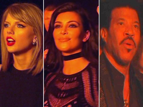 Taylor Swift left open-mouthed and Sam Smith bored stiff: 7 hilarious celebrity reactions to Kanye West's Brits performance