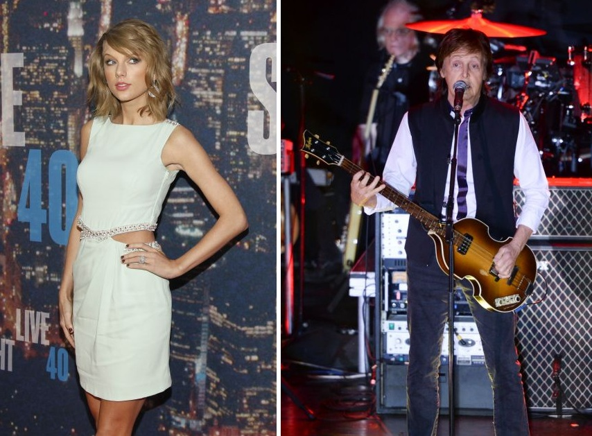 Taylor Swift, Paul McCartney and Jimmy Fallon form unlikely band at Saturday Night Live afterparty