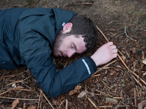 Emmerdale spoilers: First pictures as Aaron Livesy takes a dramatic fall – but will he die?