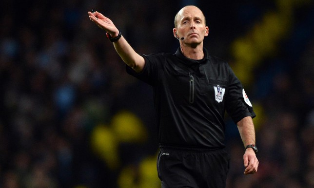 Referee Mike Dean will take charge of Chelsea's home match against Southampton