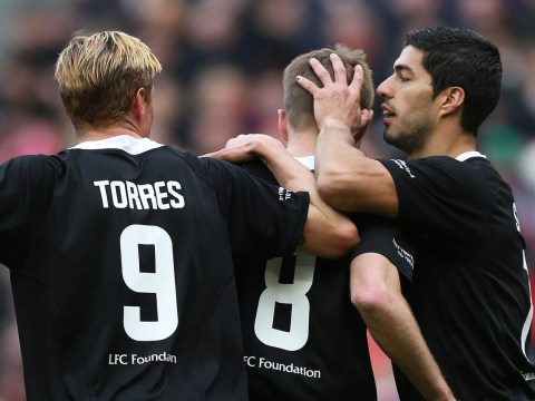 Charity was the winner, but faces old and new reuniting for the Liverpool All-Star game was simply priceless