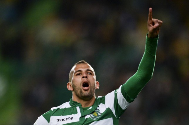 Tottenham 'transfer boost as target Islam Slimani will be sold by Sporting Lisbon in the summer'