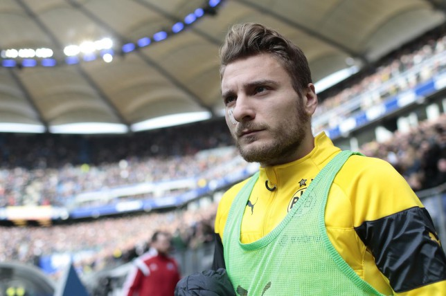 AC Milan 'to rival Liverpool in transfer race for Borussia Dortmund star Ciro Immobile'
