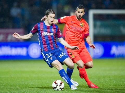 Liverpool still keen on Martin Montoya transfer from Barcelona as Glen Johnson nears exit