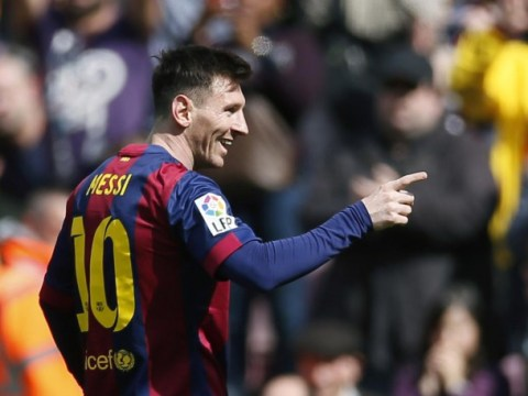 Lionel Messi can do so little in a game, yet still produce a record-breaking performance for Barcelona