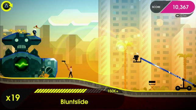 OlliOlli2: Welcome To Olliwood (PS4) - robots and skateboarding, together at last