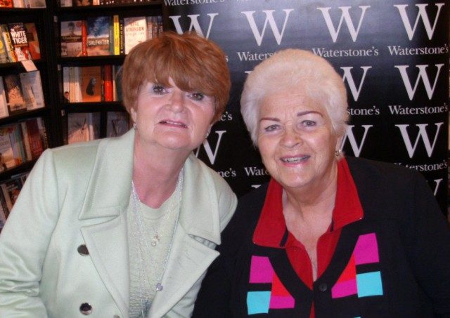 World's biggest Pat Butcher fan finally meets her 'hero' after 30 years of idolising