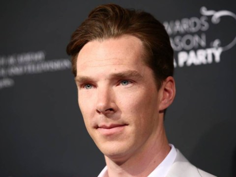 Benedict Cumberbatch looks a bit different now that he's started shooting Doctor Strange