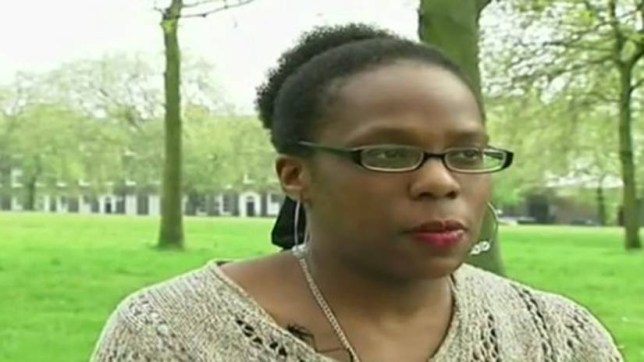 Christian woman, Sarah Mbuyi, who worked at Newpark Childcare in Highbury, North London. She is claiming that she suffered religious discrimination after being dismissed from her job.