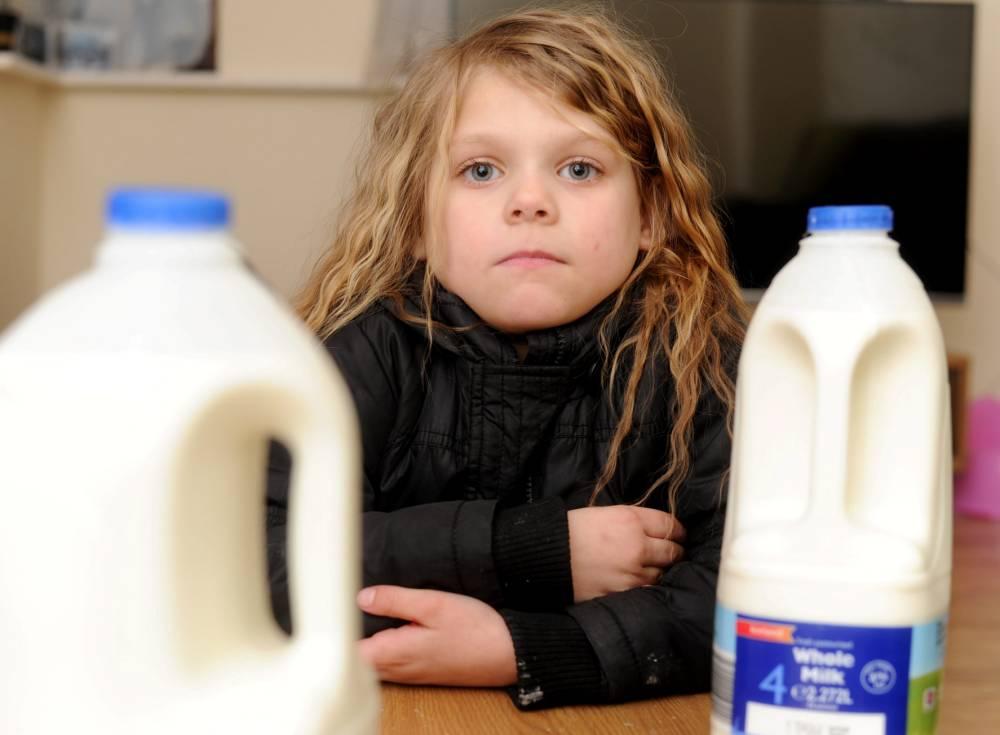 Jessica Bamford, milk