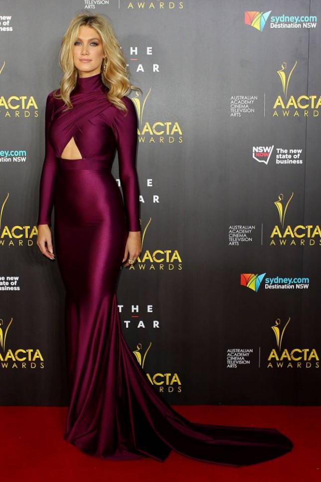 SYDNEY, AUSTRALIA - JANUARY 30:  Delta Goodrem arrives at the 3rd Annual AACTA Awards Ceremony at The Star on January 30, 2014 in Sydney, Australia.  (Photo by Lisa Maree Williams/Getty Images)