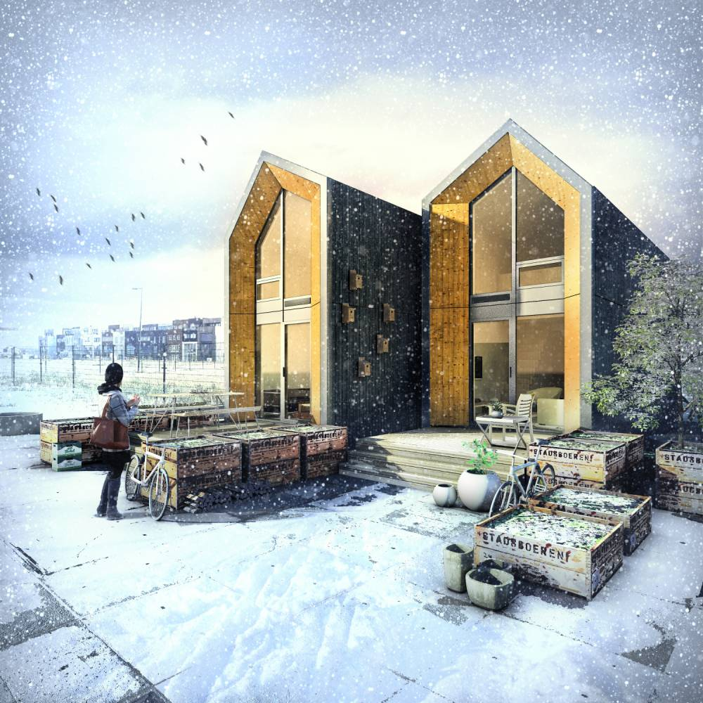 Moves report: Prefabs sprout up new homes
