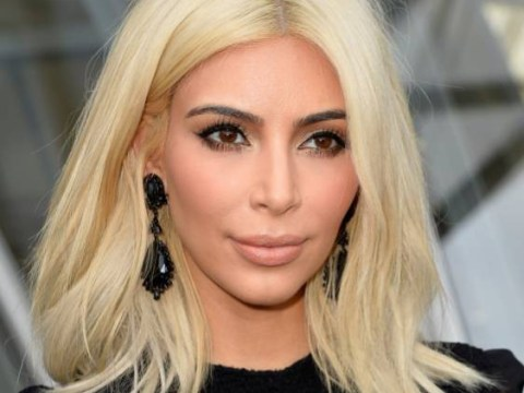 Is Kim Kardashian's blonde hair actually a WIG?