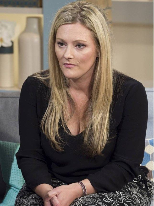 Ched Evans sister, Kylie Evans.. 'This Morning' (Picture: Rex/ITV)