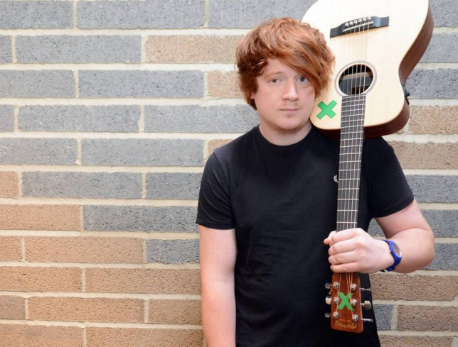 This guy is making a living out of looking like Ed Sheeran