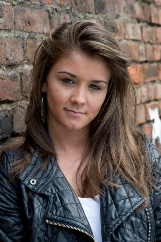 Television Programme: Coronation Street with Brooke Vincent as Sophie Webster. CORONATION STREET, Sophie Webster [BROOKE VINCENT] This photograph is (C) ITV Pl and can only be reroduced for editorial purposes directly in connection with the programme or event mentioned above, or ITV. Once made available by ITV Plc Picture Desk, this photograph can be reproduced once only up until the TX date and no reproduction fee will be charged. Any subsequent usage may incur a fee. This photograph must not be syndicated to any other publication or website, or permanently archived, without the express written permission of ITV Plc Picture Desk. Full terms and conditions of use available at www.itvpictures.com Photograher - Rob Evans Picture contact david.crook@itv.com - 0161 952 6214