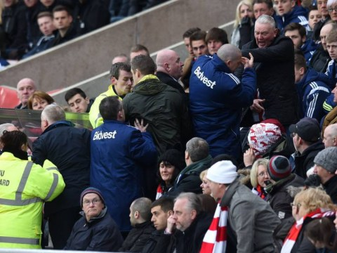 Fans turn nasty while thousands more leave at half-time during Sunderland's 4-0 loss to Aston Villa