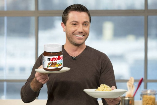 EDITORIAL USE ONLY. NO MERCHANDISING Mandatory Credit: Photo by Ken McKay/ITV/REX (4378573bx) Gino D'Acampo 'This Morning' TV Programme, London, Britain. - 19 Jan 2015 Gino is the kitchen to help brighten up what is regarded as the most depressing day of the year so far. He has two feel good Italian dishes on offer and will cook the one chosen by the viewers. Will they choose his rich chocolate & pistachio cake - or speedy lunch - Spaghetti carbonara?