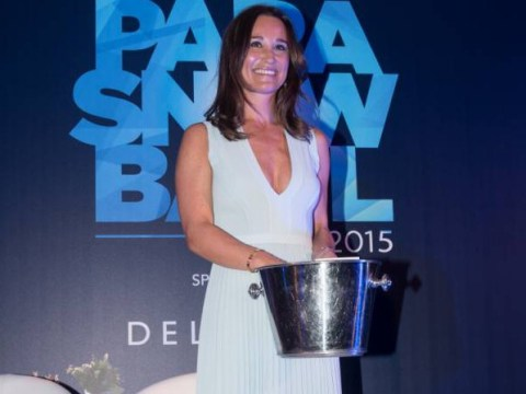 Pippa Middleton is queen of the night as she hosts charity Para Snow Ball to raise money for disabled skiers