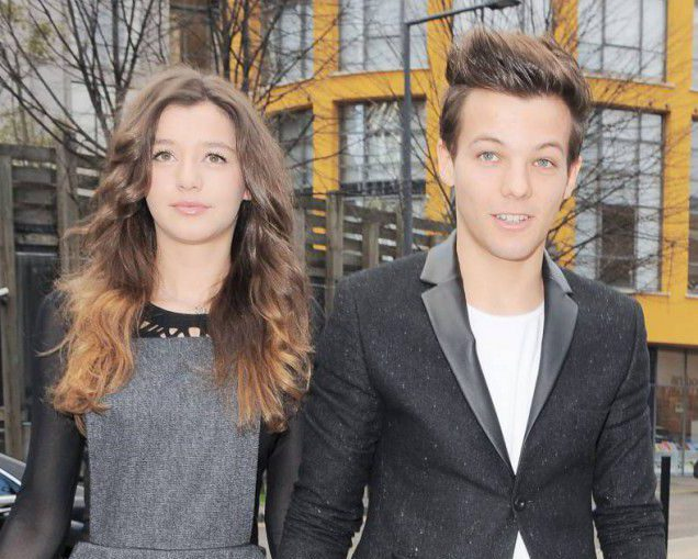 Louis Tomlinson, Eleanor Calder, One Direction