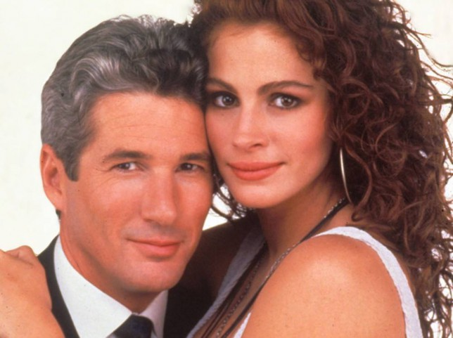 No Merchandising. Editorial Use Only. No Book Cover Usage. Mandatory Credit: Photo by Moviestore Collection/REX (1609304a) Pretty Woman,  Richard Gere,  Julia Roberts Film and Television