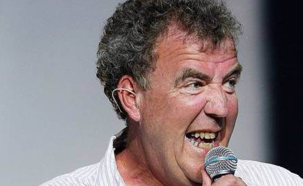 Jeremy Clarkson has seen the funny side of the Kate Moss incident with a tongue in cheek joke