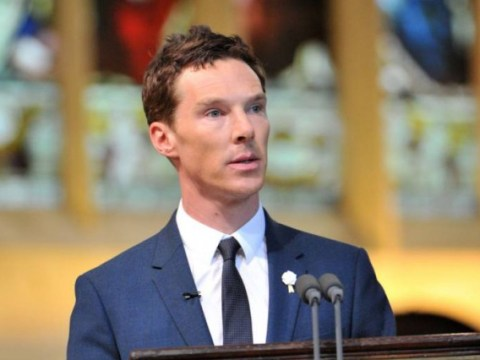 Here's the moment Benedict Cumberbatch recited a poem at Richard III's reburial