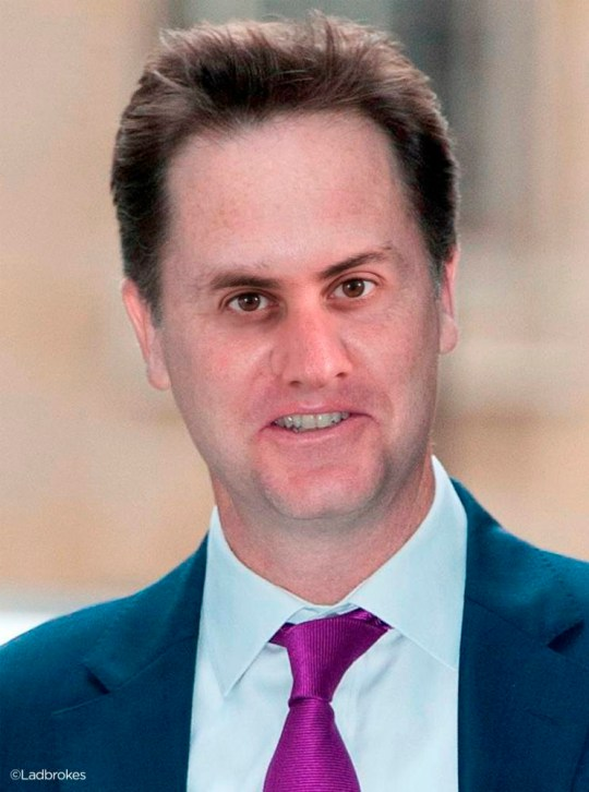 3. Nick Miliband.jpg  THE FACE OF BRITAIN'S FUTURE?  Ladbrokes releases images highlighting likely coalitions & partnerships based on odds for next government Ladbrokes's odds more accurate than pollsters' predictions    1.David Clegg  2.Ed Sturgeon  3. Nick Miliband    3.Nick Miliband-Sturgeon  4.David Farage    1.     David Cameron (Conservative) + Nick Clegg (Lib Dem) = David Clegg (5/1) 2.     Ed Miliband (Labour)+ Nicola Sturgeon (SNP) = Ed Sturgeon (16/1)? 3.     Nick Clegg (Lib Dem) + Ed Miliband (Labour) = Nick Milliband (8/1) 4.     Nick Clegg(Lib Dem) + Ed Miliband (Labour) + Nicola Sturgeon (SNP) = Nick Miliband-Sturgeon (12/1) 5.     David Cameron (Cons)+ Nigel Farage (UKIP) = David Farage (25/1)   With the odds of another hung parliament sitting at 1/5 (an 83% chance), the nation is preparing for two party leaders to join forces; but what if they were to join faces?  Ahead of campaigning stepping up a gear, as the interviews and debates begin, betting experts Ladbrokes have created images combining facial features of the party leaders on the basis of their coalition odds to show what our future 'coalition Prime Minister' could look like.  According to Ladbrokes, the Conservatives and the Liberal Democrats are the most likely coalition to form the next government at odds of 5/1. Despite Ed Miliband ruling out the possibility of an official coalition with the SNP (16/1), there remains a very real chance the SNP will prop up a minority Labour government (11/4) which is tipped ahead of a Labour/Lib Dem coalition at 8/1. A Conservative/UKIP pact trails in last at 25/1.   You could be forgiven for looking to the pollsters for an indication of who is going to win the next election, but in fact you would be looking in the wrong place. Ladbrokes' odds are based on betting patterns of over a million political punters, wagering up to £10m on the outcome, giving a greater indicator of public sentiment than any other polling or forecasting method.   Past political e