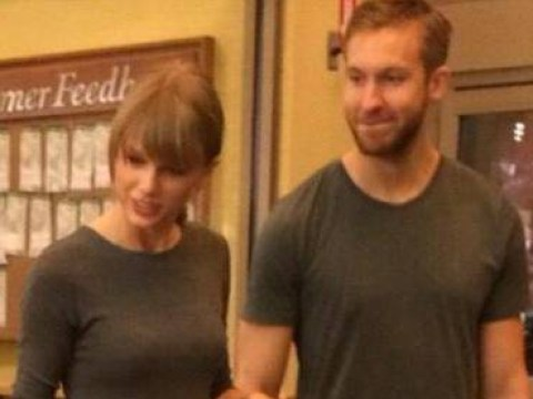 Cute couple alert! Taylor Swift and Calvin Harris are totally dating