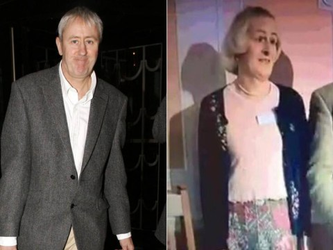 This woman standing with Nigel Farage looks just like Nicholas Lyndhurst and it's the funniest thing you'll see all day