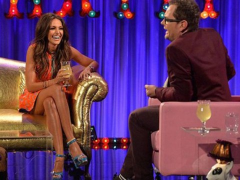 Twitter reckons Michelle Keegan's dress is way too short on Alan Carr's Chatty Man